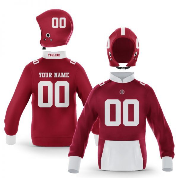 Tuscaloosa Crimson White Colorway Pullover
