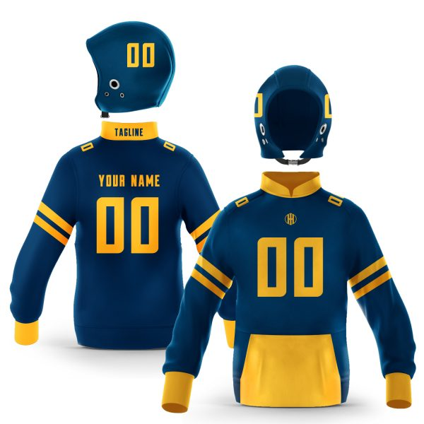 Berkeley Blue Gold Colorway Pullover