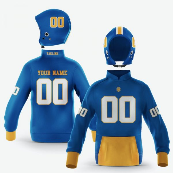 San Jose Blue Gold Colorway Pullover