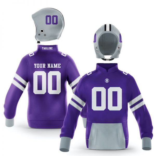Kansas State Purple White Colorway Pullover