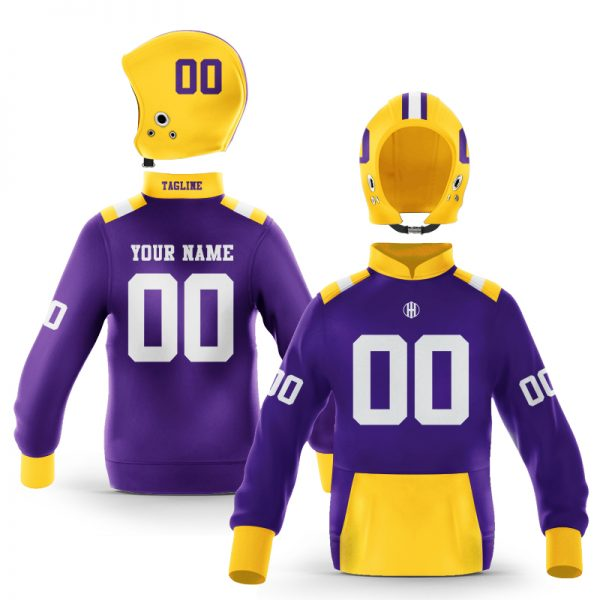 Baton Rouge Purple Gold Colorway Pullover