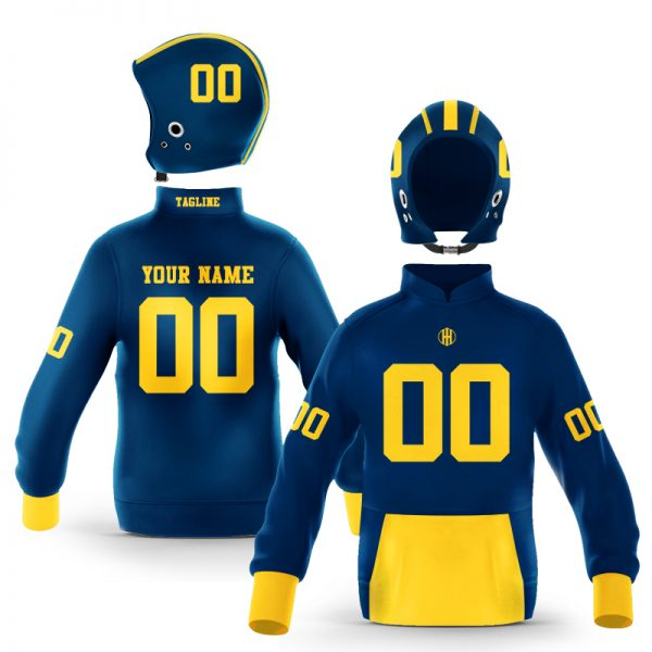 Ann Arbor Blue Maize Colorway Pullover