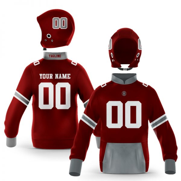 Starkville While Maroon Colorway Pullover