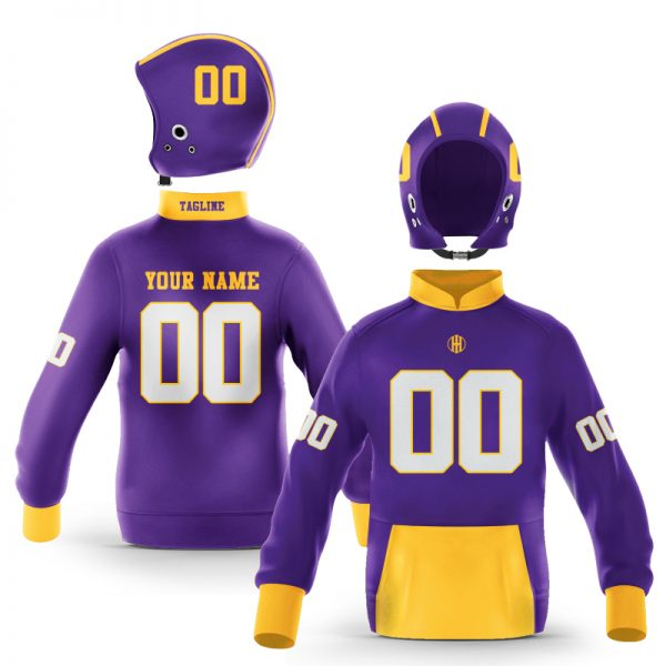 Greenville Old Gold Purple Colorway Pullover