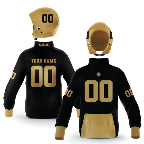 Winston Salem Black Old Gold Colorway Pullover