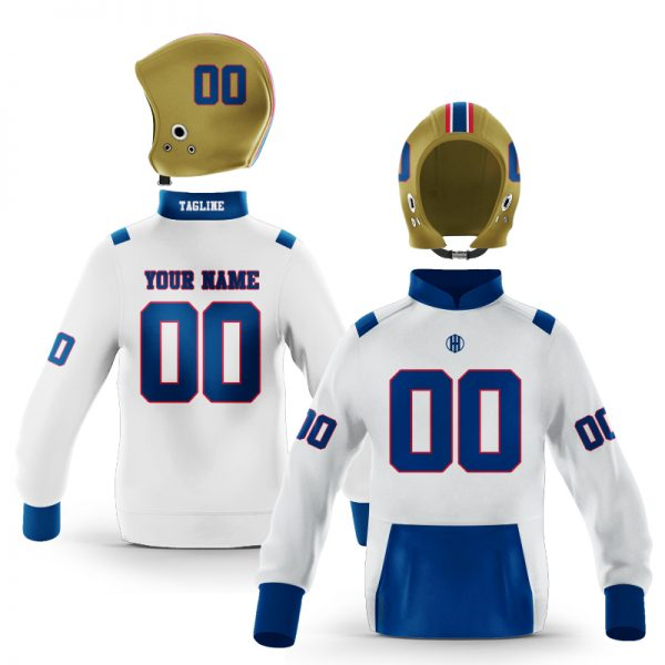 Tulsa Blue Gold Colorway Pullover