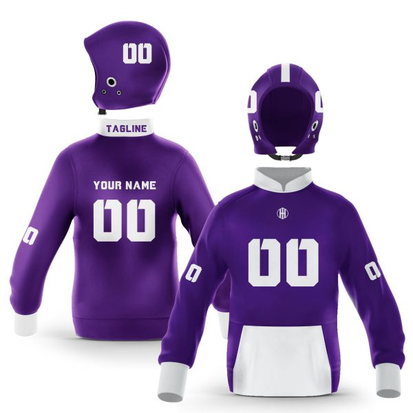 Fort Worth Purple White Colorway Pullover