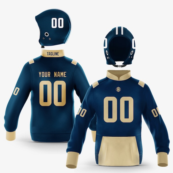 Los Angeles Blue Gold Colorway Pullover