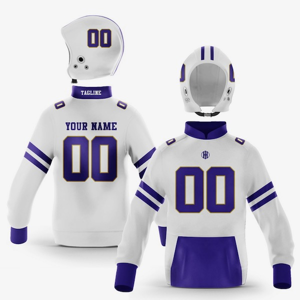 Baltimore Purple Gold Colorway Pullover