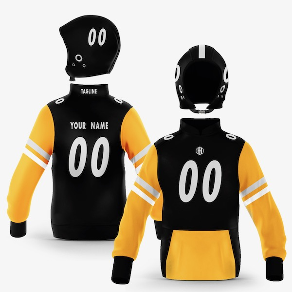 Pittsburgh Black Gold Colorway Pullover