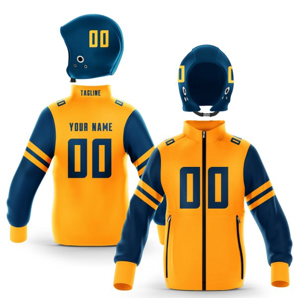 Berkeley Blue Gold Colorway Zip-Up