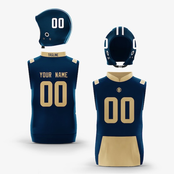Los Angeles Blue Gold Colorway Muscle