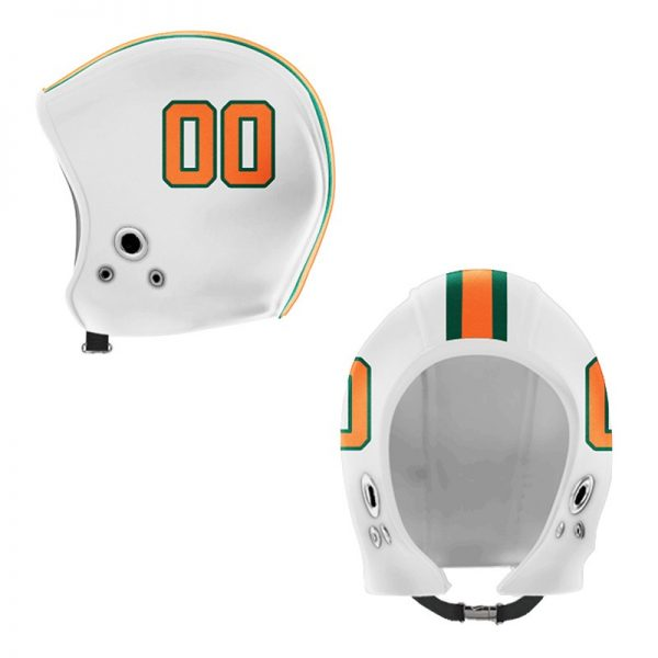 Miami Green Orange Hood