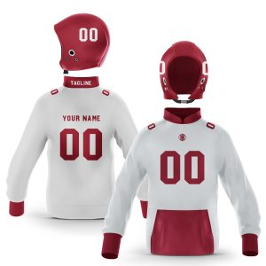 Fayetteville White Cardinal Pullover Hoodie
