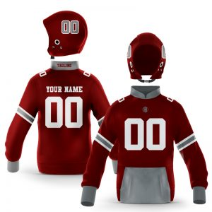 Starkville While Maroon Pullover Hoodie