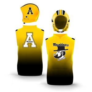 Appalachian State Mountaineers Gradient Color Muscle Pullover