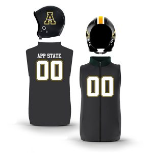Appalachian State Mountaineers Home Uniform Muscle Zip-Up